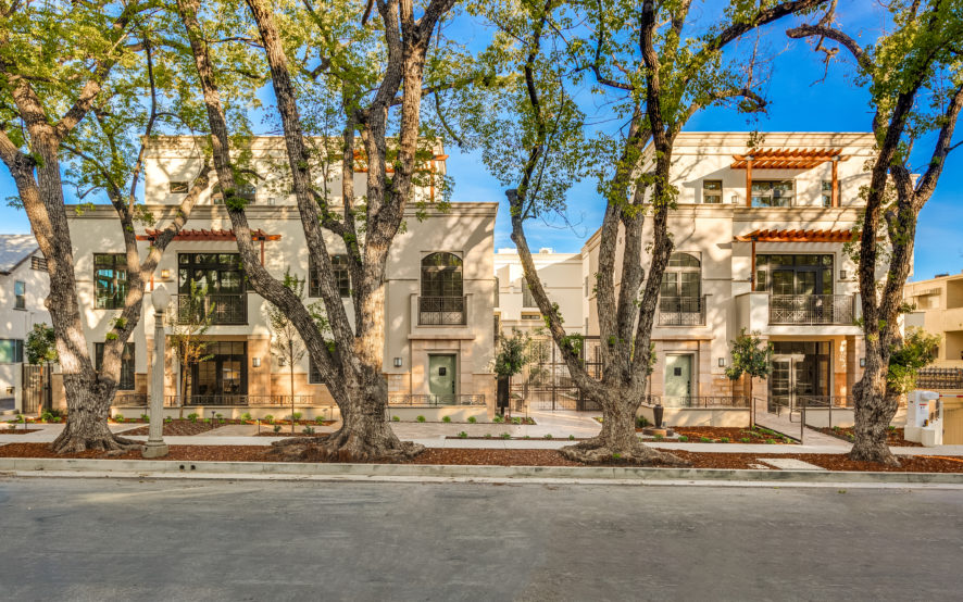 Chelsea Court Street View, Luxury townhomes, Pasadena, CA