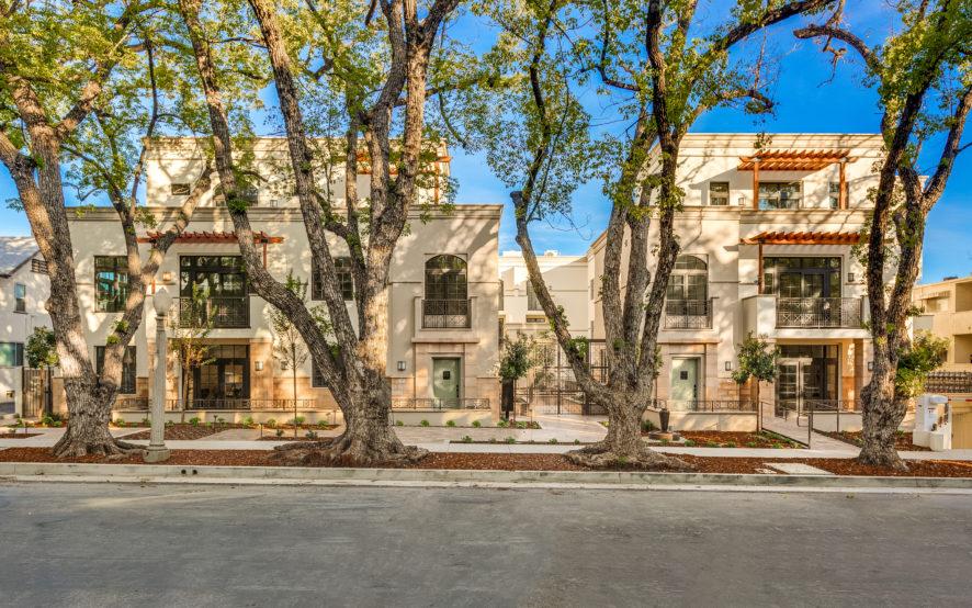 Chelsea Court Street View, Luxury townhomes, Pasadena, CA