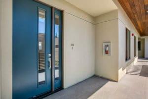 West Grove Pasadena condominiums, 125 Hurlbut Street - Front door